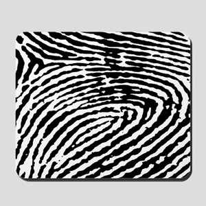 Fingerprints Mousepad