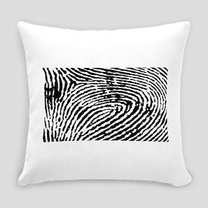 Fingerprints Everyday Pillow