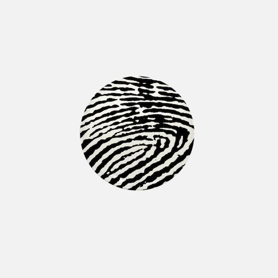 Fingerprints Mini Button