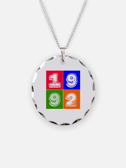 1992 Birthday Designs Necklace