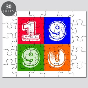 1990 Birthday Designs Puzzle