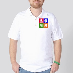 1988 Birthday Designs Golf Shirt