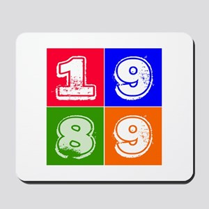 1989 Birthday Designs Mousepad