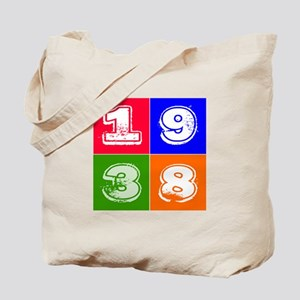 1938 Birthday Designs Tote Bag