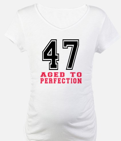 47 Aged To Perfection Birthday D Shirt