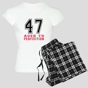 47 Aged To Perfection Birth Women's Light Pajamas