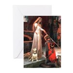 The Accolade Bull Terrier Greeting Cards (Pk of 20