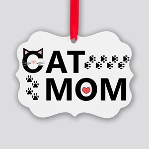Cat Mom Ornament