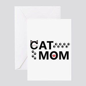 Cat Mom Greeting Cards