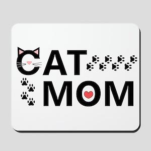 Cat Mom Mousepad