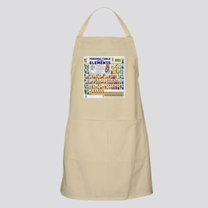 Periodic table aprons cafepress periodic table of elements apron urtaz Image collections