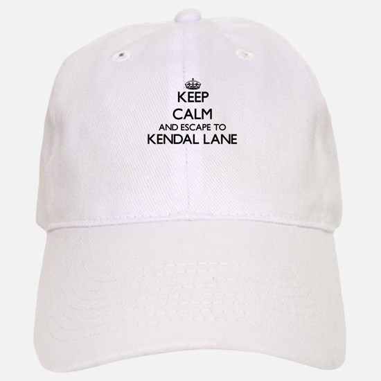 Keep calm and escape to Kendal Lane Massachuse Baseball Baseball Cap