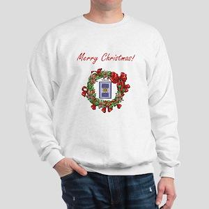 Bank Teller Merry X-mas Sweatshirt
