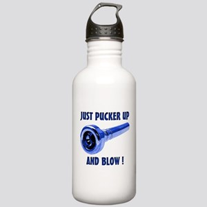 Just Pucker Up and Blo Stainless Water Bottle 1.0L