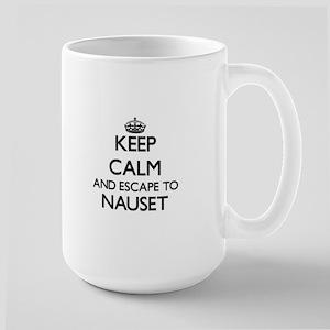 Keep calm and escape to Nauset Massachusetts Mugs