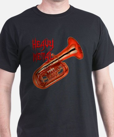Heavy Metal - Tuba T-Shirt