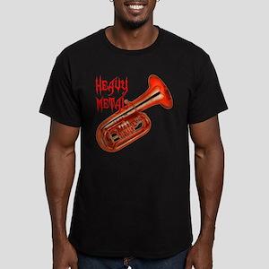 Heavy Metal - Tuba Men's Fitted T-Shirt (dark)