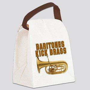 Baritones Kick Brass Canvas Lunch Bag