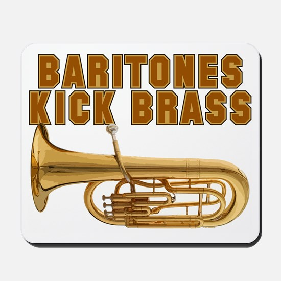 Baritones Kick Brass Mousepad
