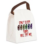 Can't Sleep! Tubas Will Eat Me Canvas Lunch Bag