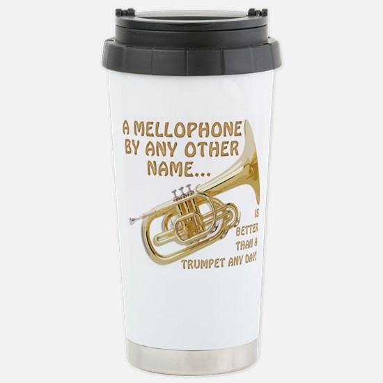 Mellophone By Any Other Stainless Steel Travel Mug