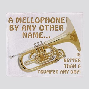 Mellophone By Any Other Name... Throw Blanket