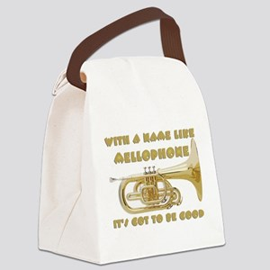 With a Name Like Mellophone... Canvas Lunch Bag