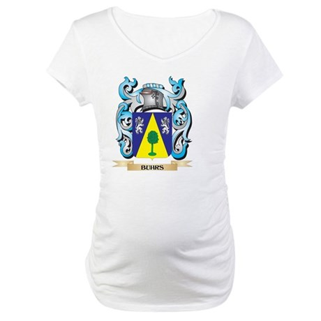 Buhrs Coat of Arms - Family Cres Maternity T-Shirt