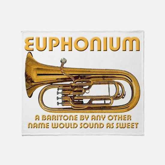 Euphonium Throw Blanket
