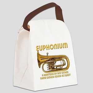 Euphonium Canvas Lunch Bag