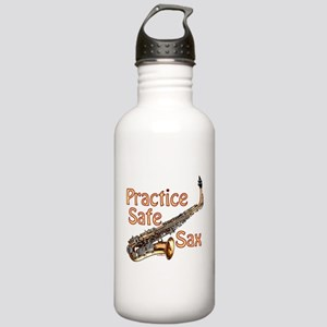 Practice Safe Sax Stainless Water Bottle 1.0L