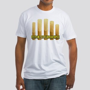 Reeding Is Fundamental Fitted T-Shirt