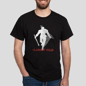 Clarinet Ninja Dark T-Shirt