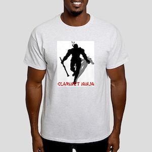 Clarinet Ninja Light T-Shirt