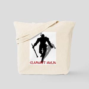 Clarinet Ninja Tote Bag