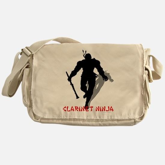 Clarinet Ninja Messenger Bag
