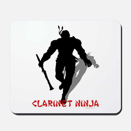 Clarinet Ninja Mousepad