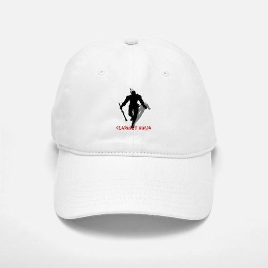 Clarinet Ninja Baseball Baseball Cap