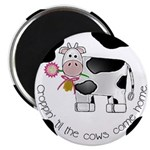 Croppin' Cows Magnet