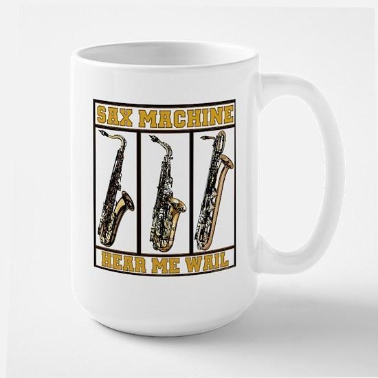 Sax Machine Large Mug