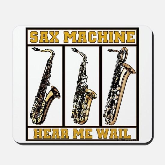 Sax Machine Mousepad