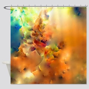 Climbing In The Clouds Shower Curtain