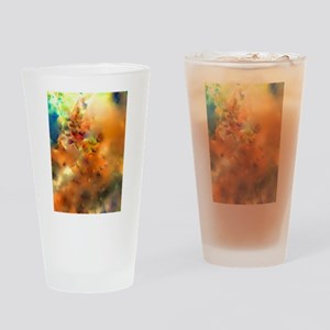Climbing In The Clouds Drinking Glass