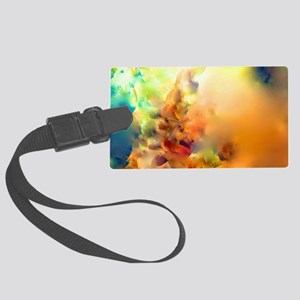 Climbing In The Clouds Luggage Tag