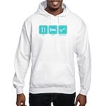 Eat, Sleep, Scrapbook Hooded Sweatshirt