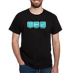 Eat, Sleep, Scrapbook Dark T-Shirt
