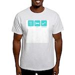 Eat, Sleep, Scrapbook Ash Grey T-Shirt