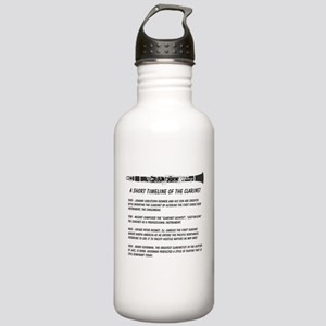 Clarinet Timeline Stainless Water Bottle 1.0L