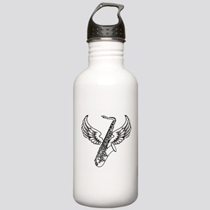 Winged Sax Stainless Water Bottle 1.0L
