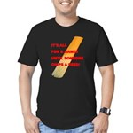 Chip a Reed Men's Fitted T-Shirt (dark)